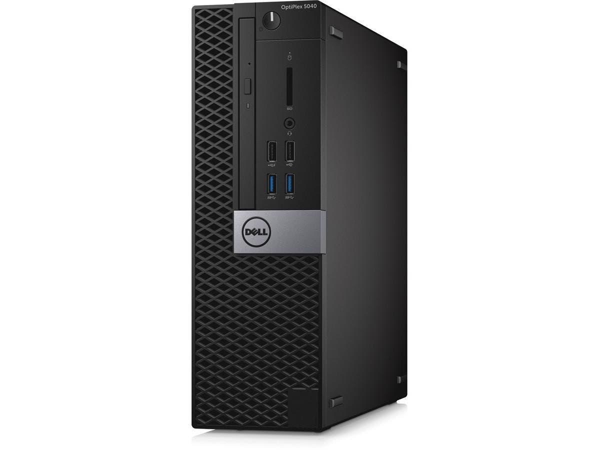 Dell OptiPlex 5040 Desktop Computer - Intel Core i7 (6th Gen) i7-6700 3.40 GHz - Small Form Factor - 8 GB DDR3L SDRAM RAM - 256 GB SSD - DVD-Writer DVD±R/±RW - Intel HD Graphics 530 - DDR3L