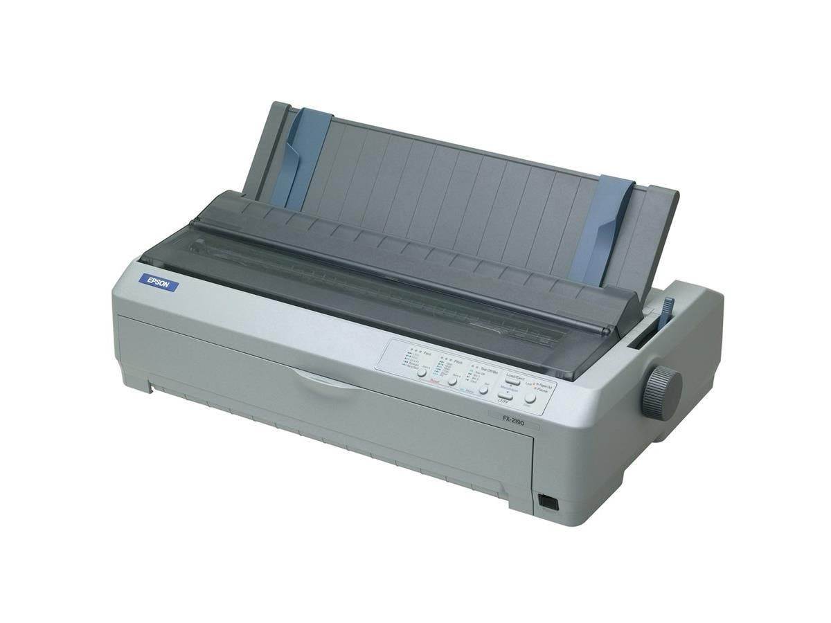 Epson FX-2190 Dot Matrix Printer - 680 cps Mono - Parallel, USB
