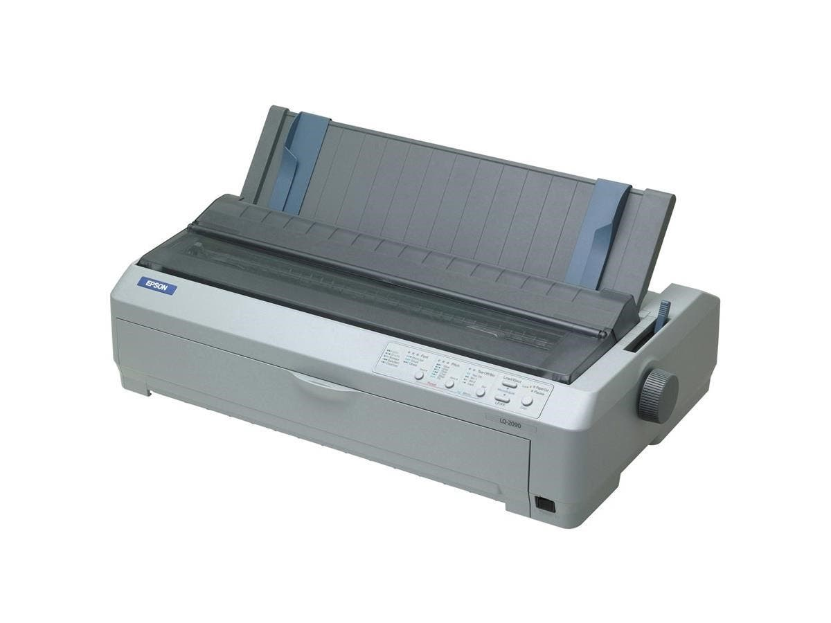 Epson LQ-2090 Dot Matrix Printer - 529 cps Mono - Parallel, USB-Large-Image-1