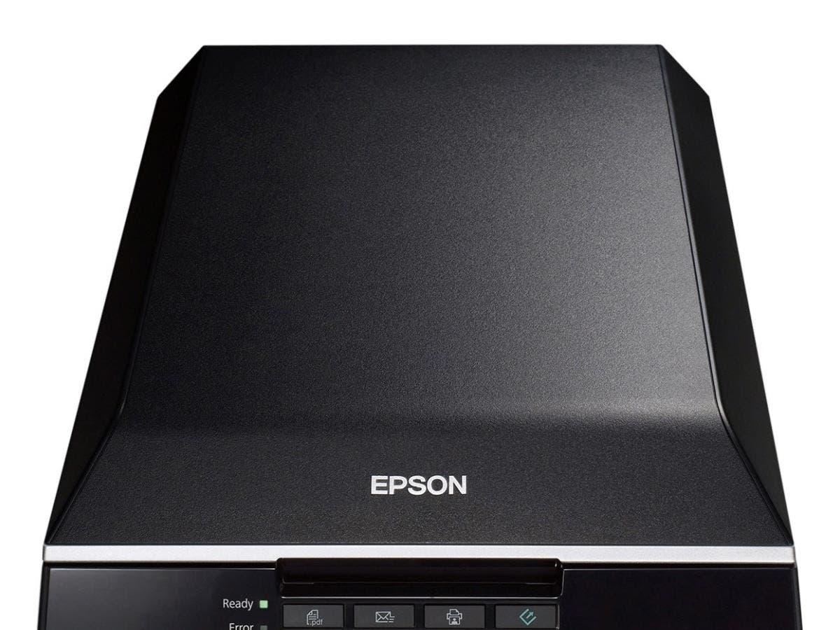 Epson Perfection V550 Flatbed Scanner - 6400 dpi Optical - 48-bit Color - 16-bit Grayscale - USB-Large-Image-1