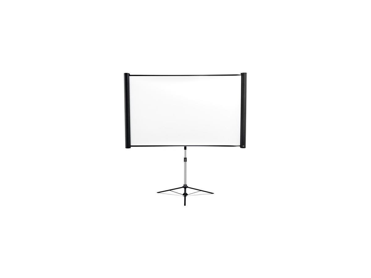 "Epson ES3000 Manual Projection Screen - 80"" - 16:10 - Floor Mount - 11.5"" x 13.5"" - Matte White-Large-Image-1"