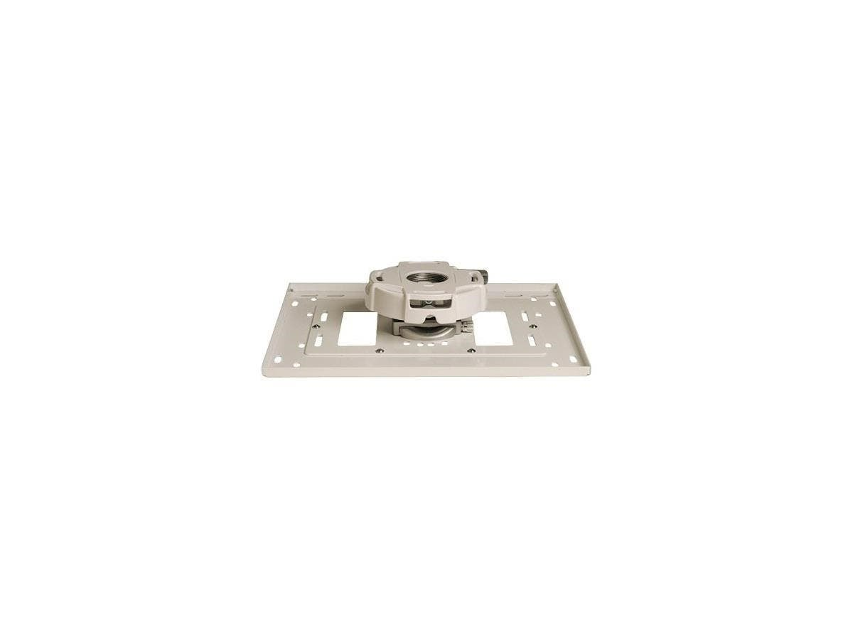 Epson ELPMBPRH Mounting Adapter for Projector - 25 lb Load Capacity - White-Large-Image-1