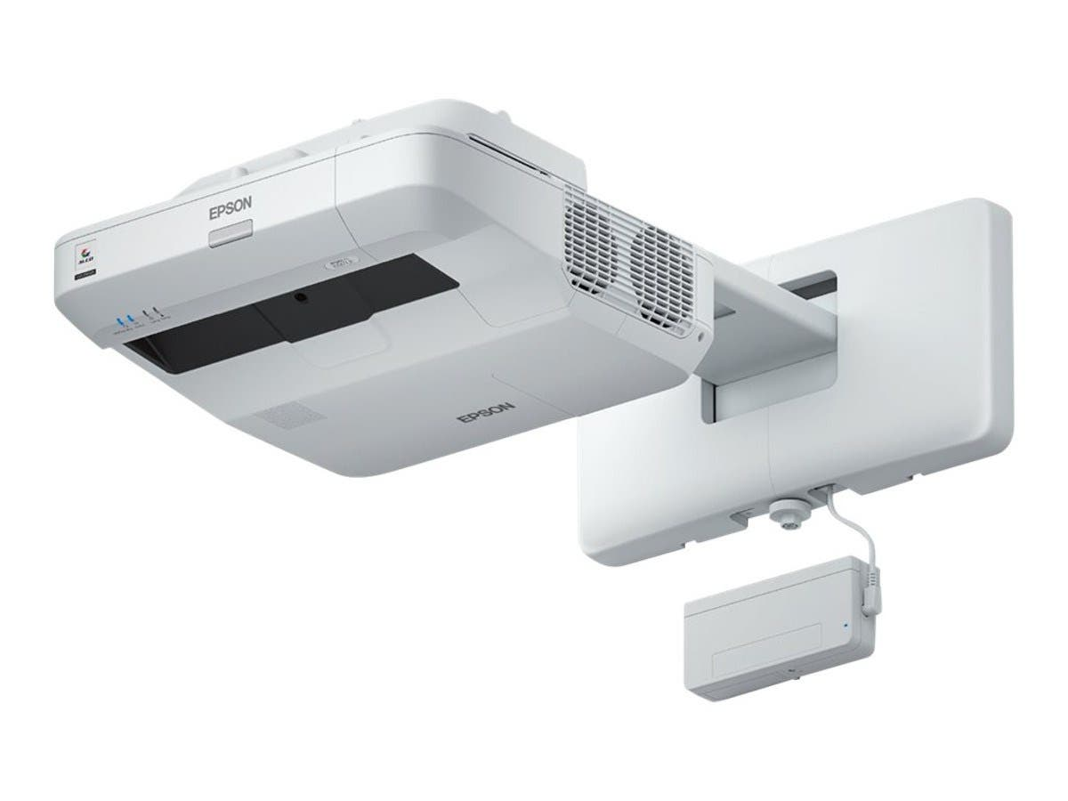 Epson BrightLink 697Ui Wireless Full HD 3LCD Projector, 4400 Lumens, White-Large-Image-1