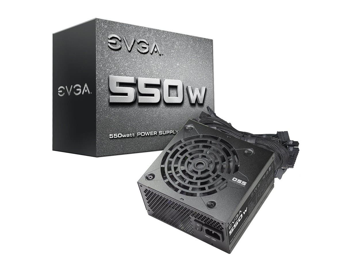 EVGA 550 N1, 550W Power Supply 100-N1-0550-L1-Large-Image-1