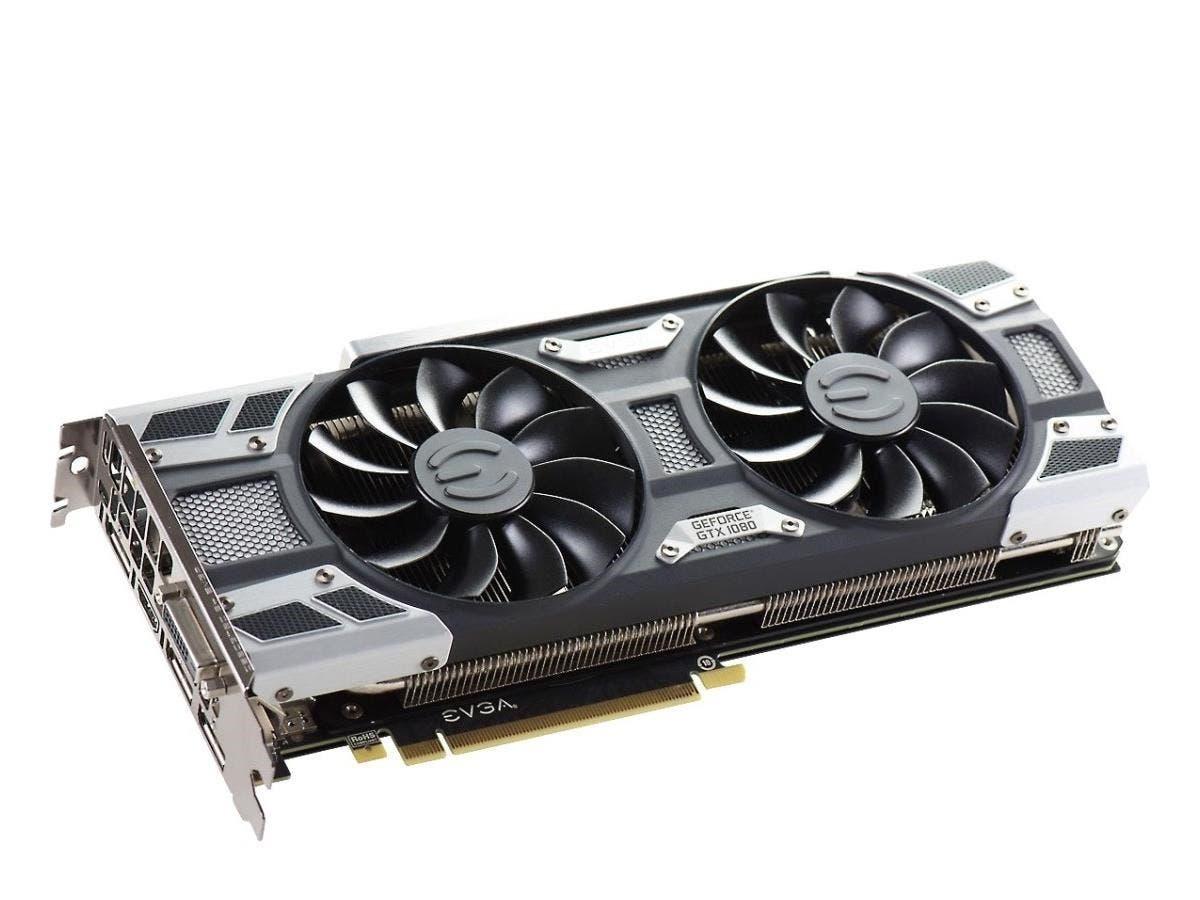 EVGA GeForce GTX 1080 Graphic Card - 1.71 GHz Core - 1.85 GHz Boost Clock - 8 GB GDDR5X - PCI Express 3.0 x16 - Dual Slot Space Required - 256 bit Bus Width - SLI - Fan Cooler - OpenGL 4.5, DirectX 12
