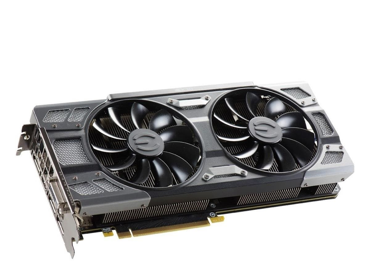 EVGA GeForce GTX 1080 Graphic Card - 1.72 GHz Core - 1.86 GHz Boost Clock - 8 GB GDDR5X - PCI Express 3.0 x16 - Dual Slot Space Required - 256 bit Bus Width - SLI - Fan Cooler - OpenGL 4.5, DirectX 12