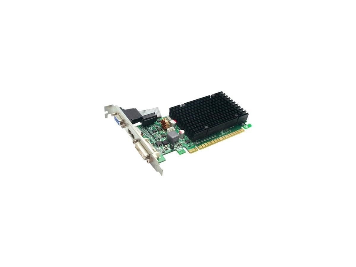 EVGA 512-P3-1311-KR GeForce 210 Graphic Card - 520 MHz Core - 512 MB DDR3 SDRAM - PCI Express 2.0 x16 - 1200 MHz Memory Clock - 32 bit Bus Width - 2560 x 1600 - 1 x HDMI - 1 x VGA - 1 x Total Number o