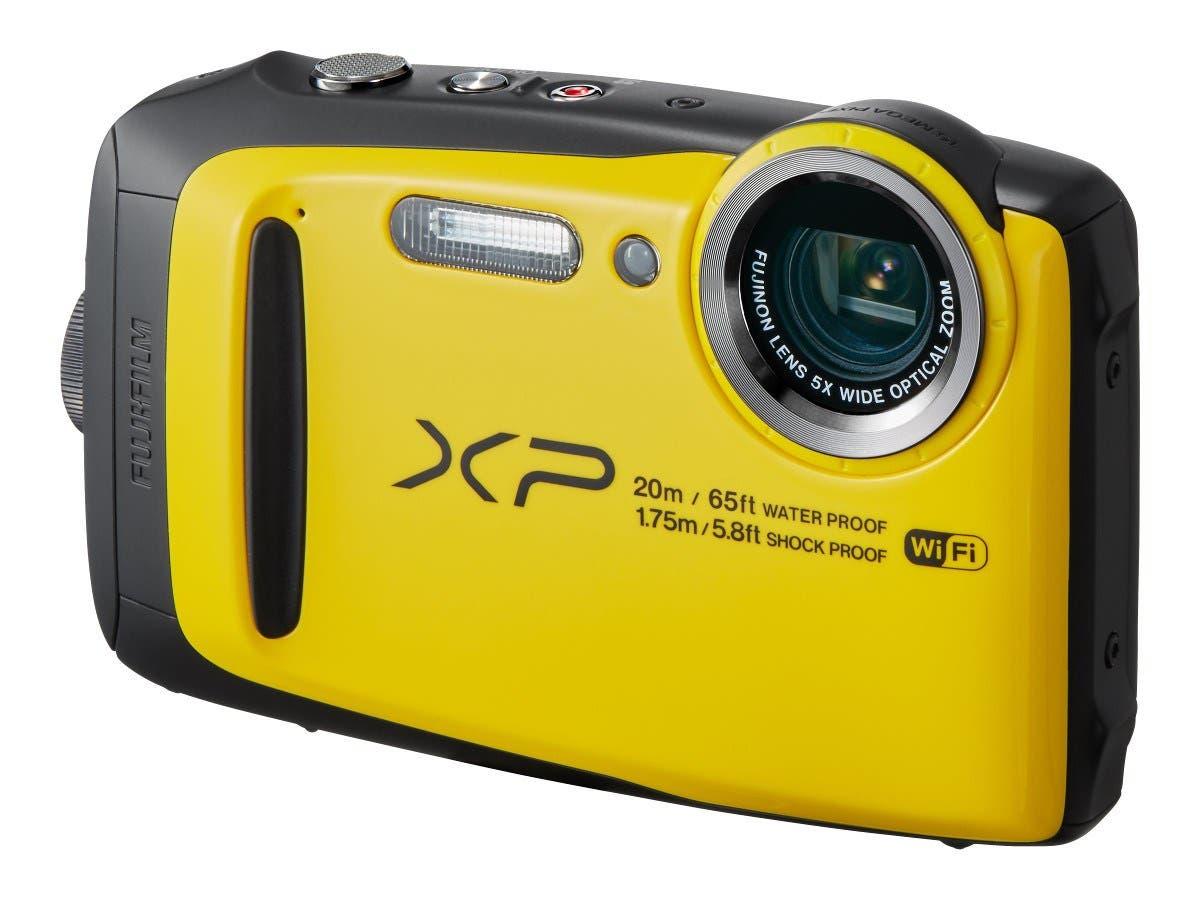 Fujifilm FinePix XP120 Camera, 16.4MP, 5x Zoom, Yellow - 16544125