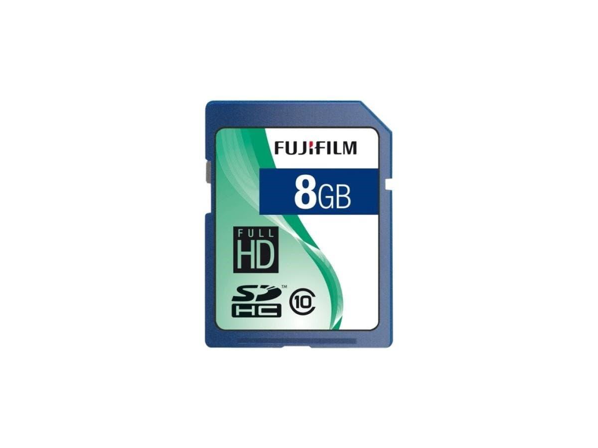 Fujifilm 600008927 8 GB SDHC - Class 10 - 1 Card