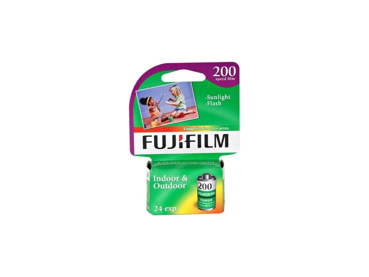 Fujifilm Superia 200 35mm Color Film Roll - ISO 200-Large-Image-1