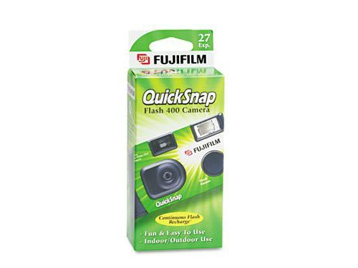 Fuji 35mm QuickSnap Single Use Camera, 400 ASA (FUJ7033661) Category: Single Use Cameras 10 Count