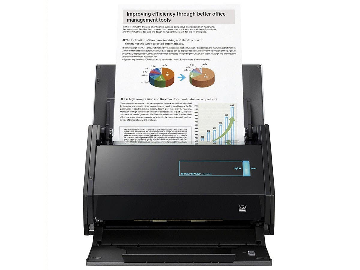 Fujitsu ScanSnap iX500 Sheetfed Scanner - 600 dpi Optical - 25 - 25 - USB