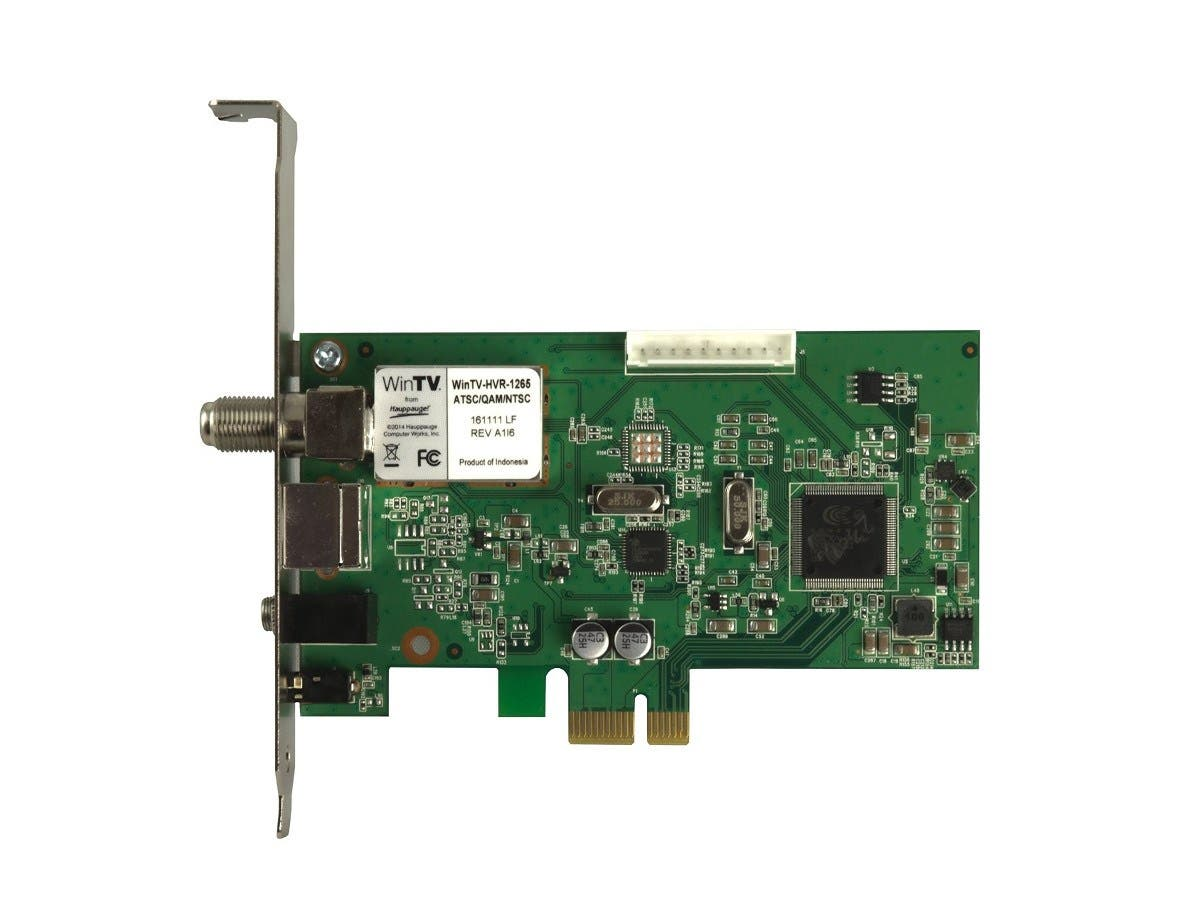 Hauppauge 1196 WinTV HVR-1250 Hybrid Video Recorder - PCI Express - ATSC, NTSC-Large-Image-1