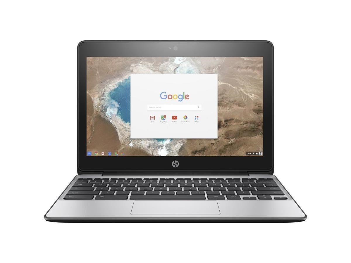 "HP Chromebook 11 G5 11.6"" Chromebook - Intel Celeron N3050 Dual-core (2 Core) 1.60 GHz - 2 GB DDR3L SDRAM RAM - 16 GB Flash Memory Capacity - Intel HD Graphics DDR3L SDRAM - Chrome OS"