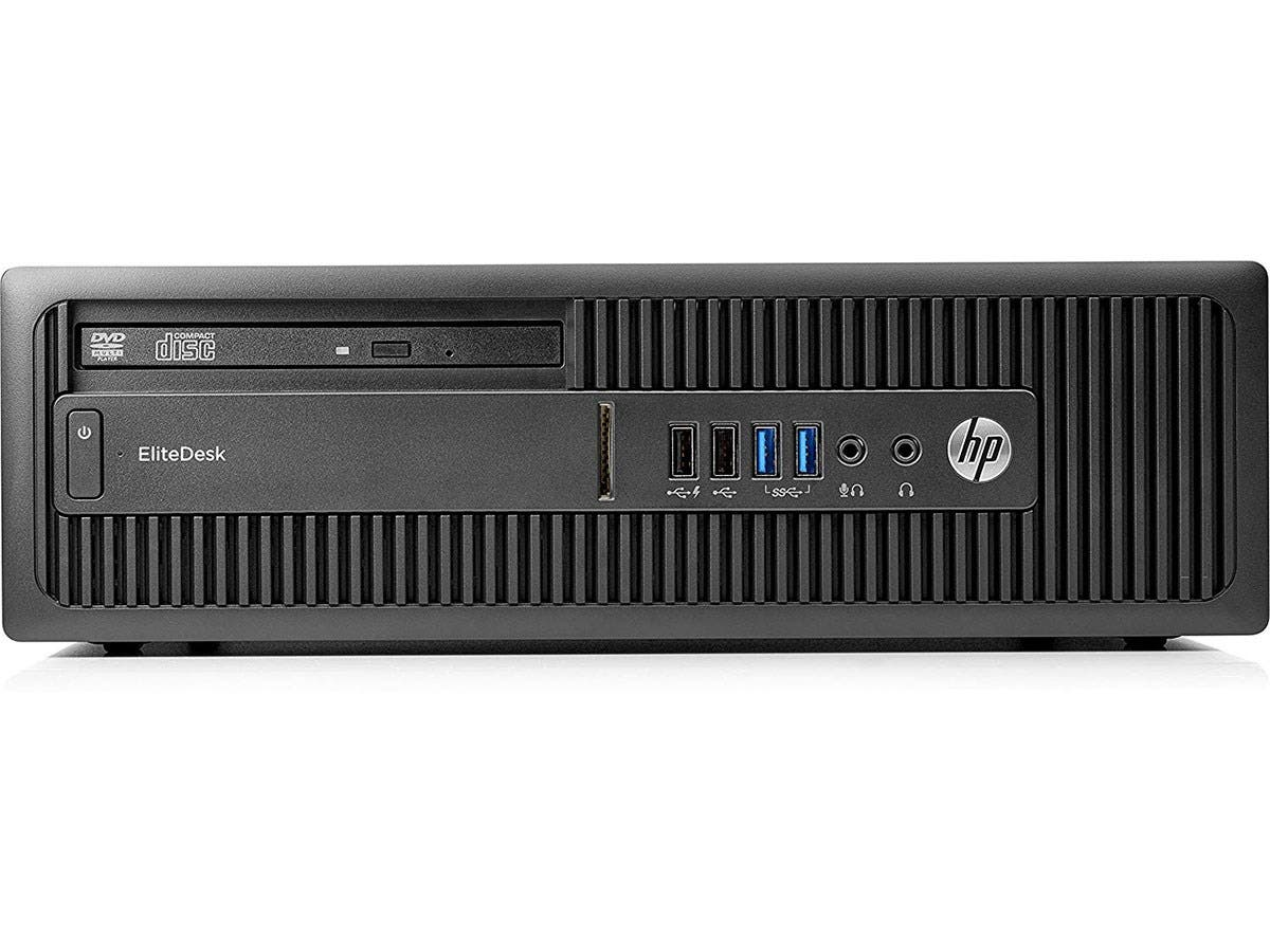 HP Desktop PC EliteDesk 705 G3 (Z2H55UT#ABA) A6-Series APU PRO A6-8570 (3.50 GHz) 4 GB DDR4 500 GB HDD AMD Radeon R5-Large-Image-1