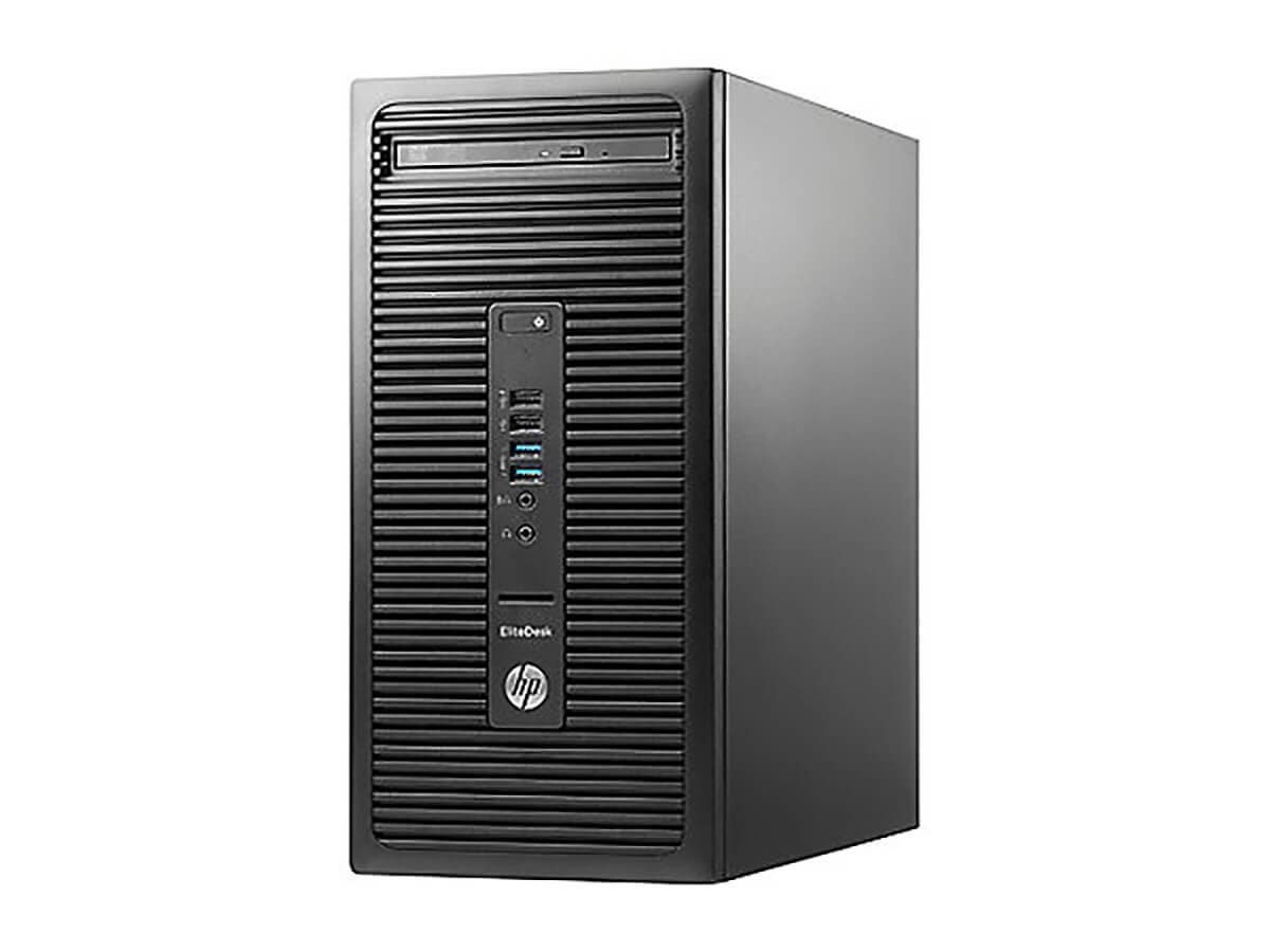 HP EliteDesk 705 G3 Micro Tower, 16 GB RAM, 512 GB SSD, AMD Radeon R7, Black (W5Y68UT#ABA) -Large-Image-1