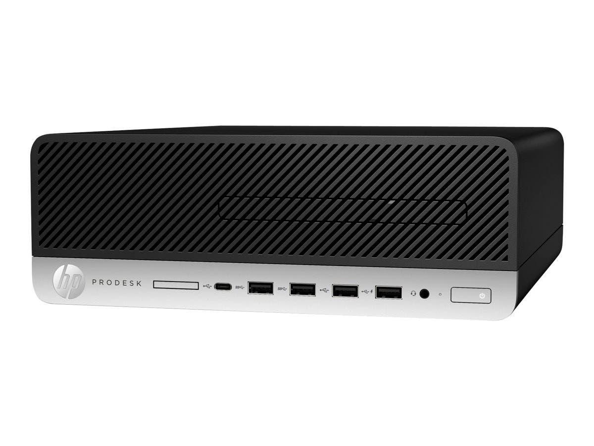 HP Smart Buy 600G3 PD SFF I5-7500 4GB 500GB DVD-RW W10P6 64-Bit-Large-Image-1