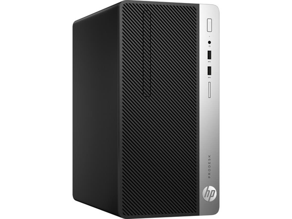 HP Smart Buy ProDesk 400 G4 MT i3-7100 3.9GHz 4GB 500GB DVD-RW W10P64 - Z2H65UT#ABA