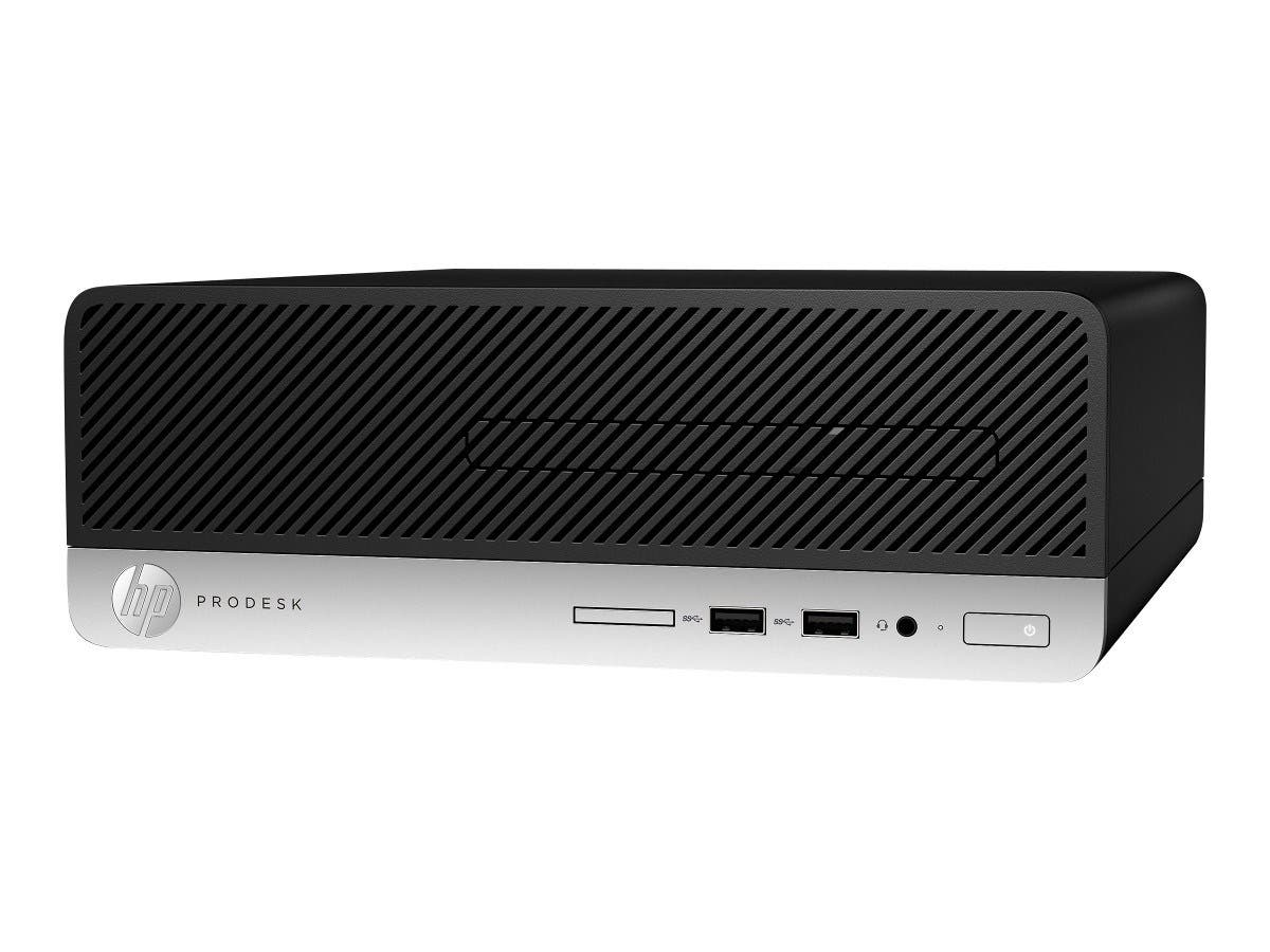HP Smart Buy ProDesk 400 G4 SFF i5-7500 3.4GHz 4GB 500GB DVD-RW W10P64 1GG04UT#ABA  -Large-Image-1