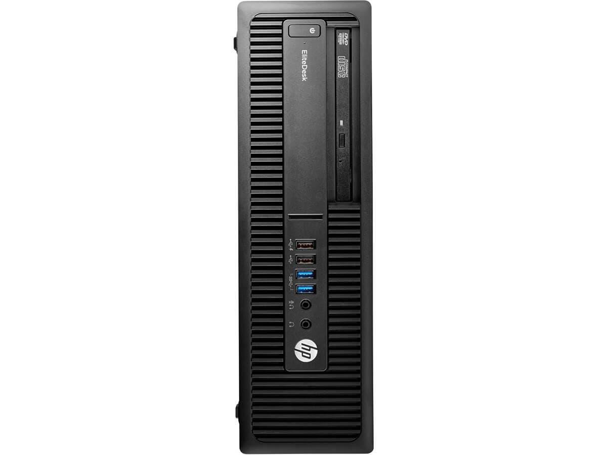 HP Smart Buy EliteDesk 705 G3 SFF A10-9700 3.5GHz 8GB 1TB DVD-RW W10P64 - Y4E58UT#ABA-Large-Image-1