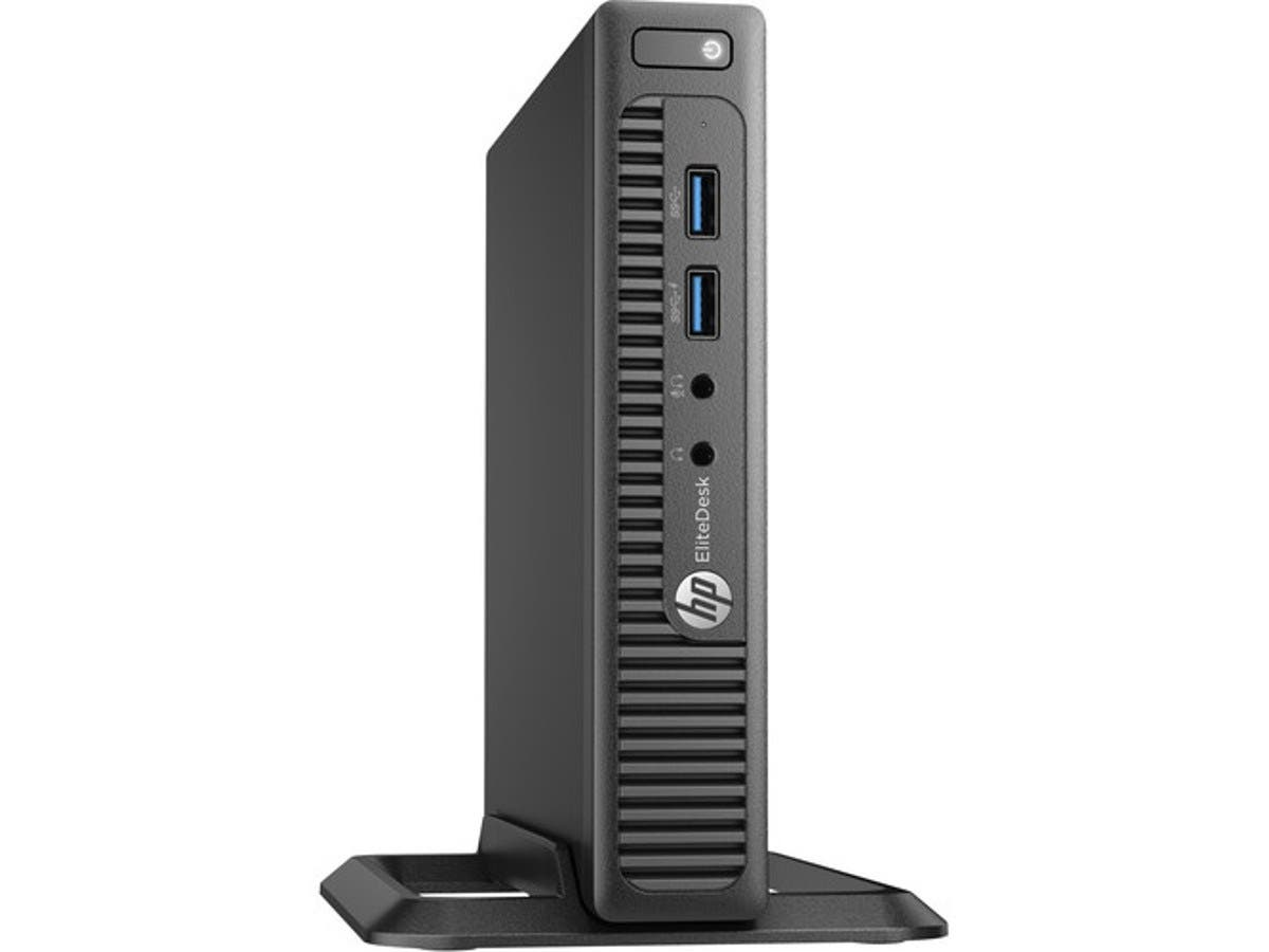 HP Desktop PC EliteDesk 705 G3 (Z2H59UT#ABA) A10-Series APU PRO A10-8770E (2.80 GHz) 8 GB DDR4 256 GB SSD AMD Radeon R7 Windows 7 Professional 64-Bit / Win 10 Pro 64-Bit Downgrade