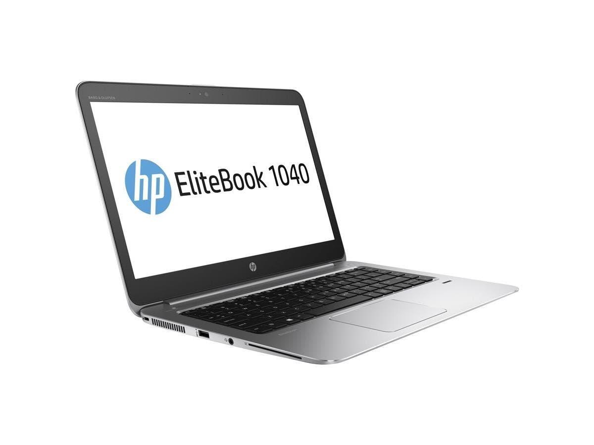 "HP EliteBook 1040 G3 14"" Notebook - Intel Core i5 (6th Gen) i5-6300U Dual-core (2 Core) 2.40 GHz - 8 GB DDR4 SDRAM RAM - 256 GB SSD - Intel HD Graphics 520 DDR4 SDRAM-Large-Image-1"