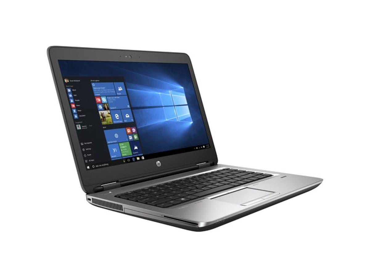 "HP ProBook 650 G3 Laptop PC - 15.6"" Full HD Display, Intel Core i5-7200U 2.5GHz Dual-Core Processor, 8GB DDR4 RAM, 256GB SSD, Intel HD Graphics 620, Windows 10 Professional 64-bit - 1BS00UT#ABA-Large-Image-1"