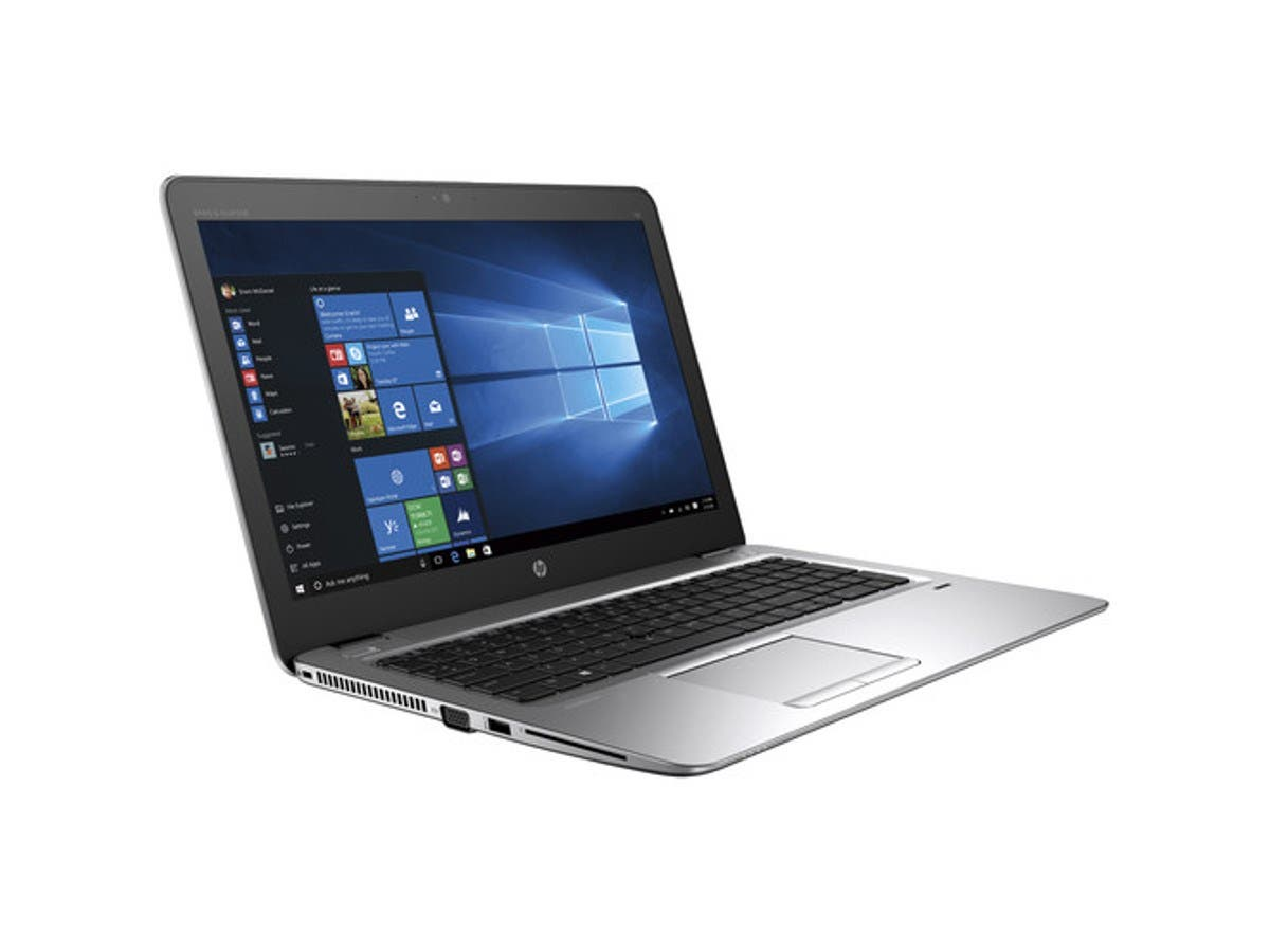 "HP EliteBook 1FX49UT#ABA 15.6"" Traditional Laptop, Silver"