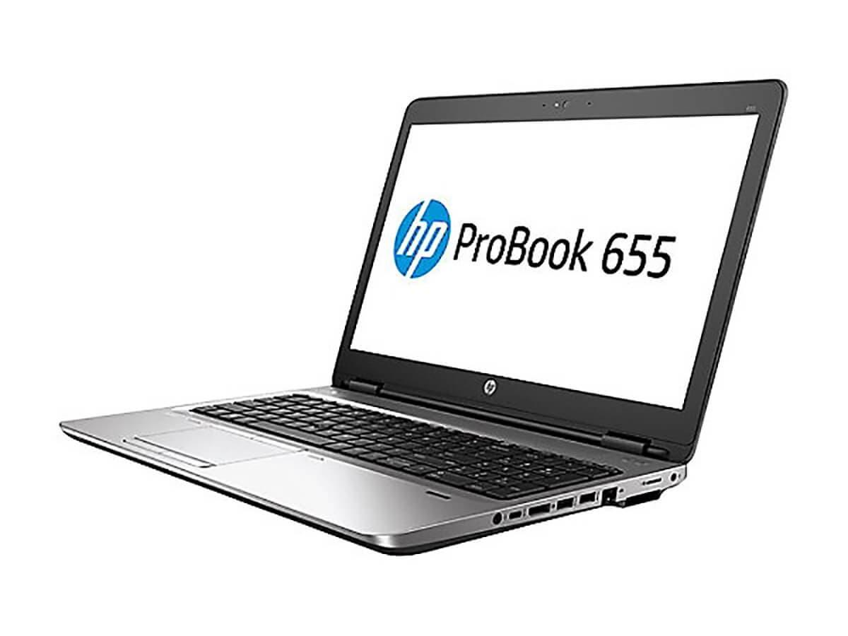 "HP Probook 655 G3 15.6"" Notebook, Windows, AMD A8 2.4 GHz, 8 GB RAM, 500 GB HDD, AMD Radeon R5, Black (1BS04UT#ABA) -Large-Image-1"
