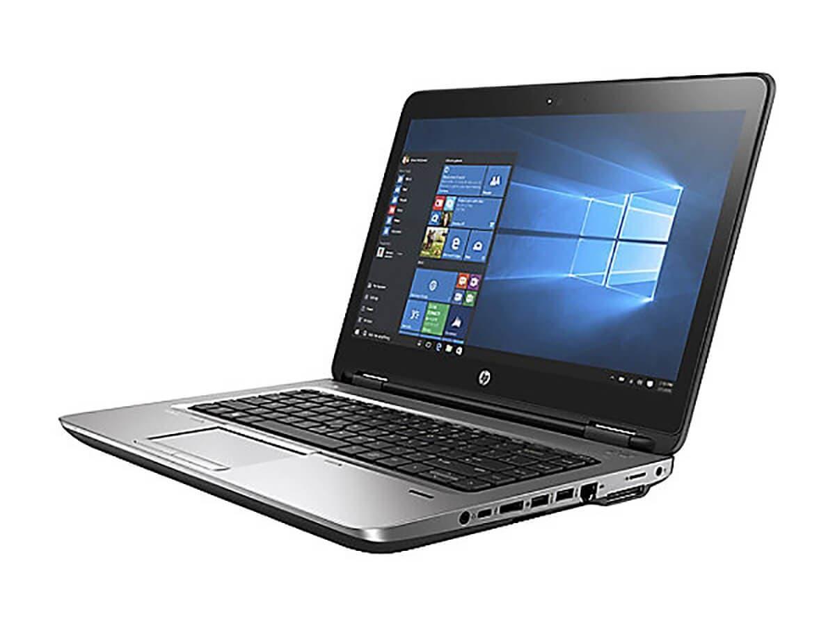 "HP Probook 640 G3 14"" Notebook, Windows, Intel Core i5 2.5 GHz, 8 GB RAM, 256 GB SSD, Black (1BS12UT#ABA) -Large-Image-1"