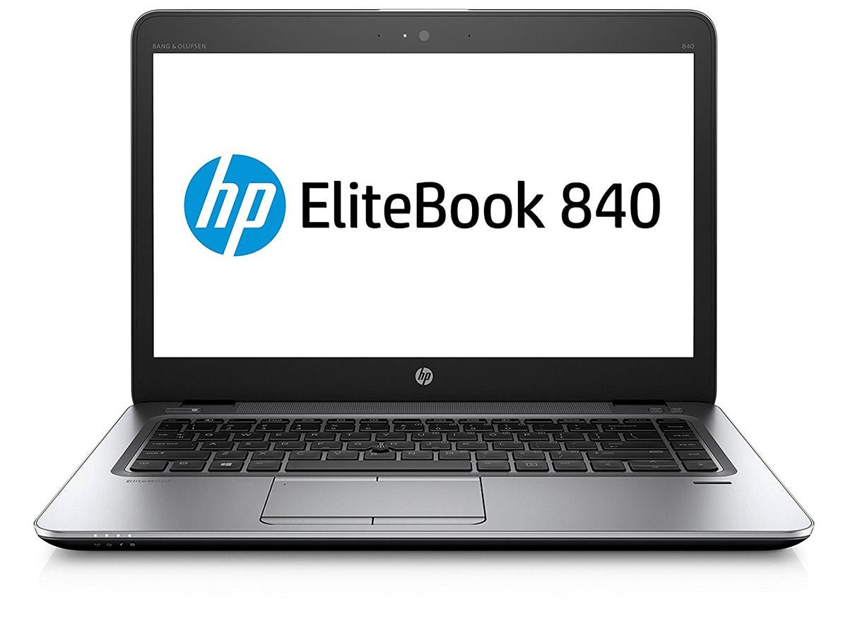 "HP Elitebook 840 G4 14"" Notebook, Windows, Intel Core i7 2.8 GHz, 8 GB RAM, 256 GB SSD , Silver (1GE46UT#ABA)"