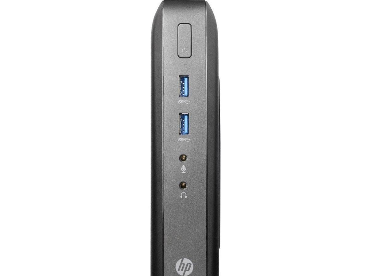 HP Thin Client - AMD G-Series GX-212JC Dual-core (2 Core) 1.20 GHz - 4 GB RAM DDR3L SDRAM - 16 GB Flash - AMD Radeon HD 9000 Graphics - Gigabit Ethernet - Windows Embedded Standard 7E (English) - Wire