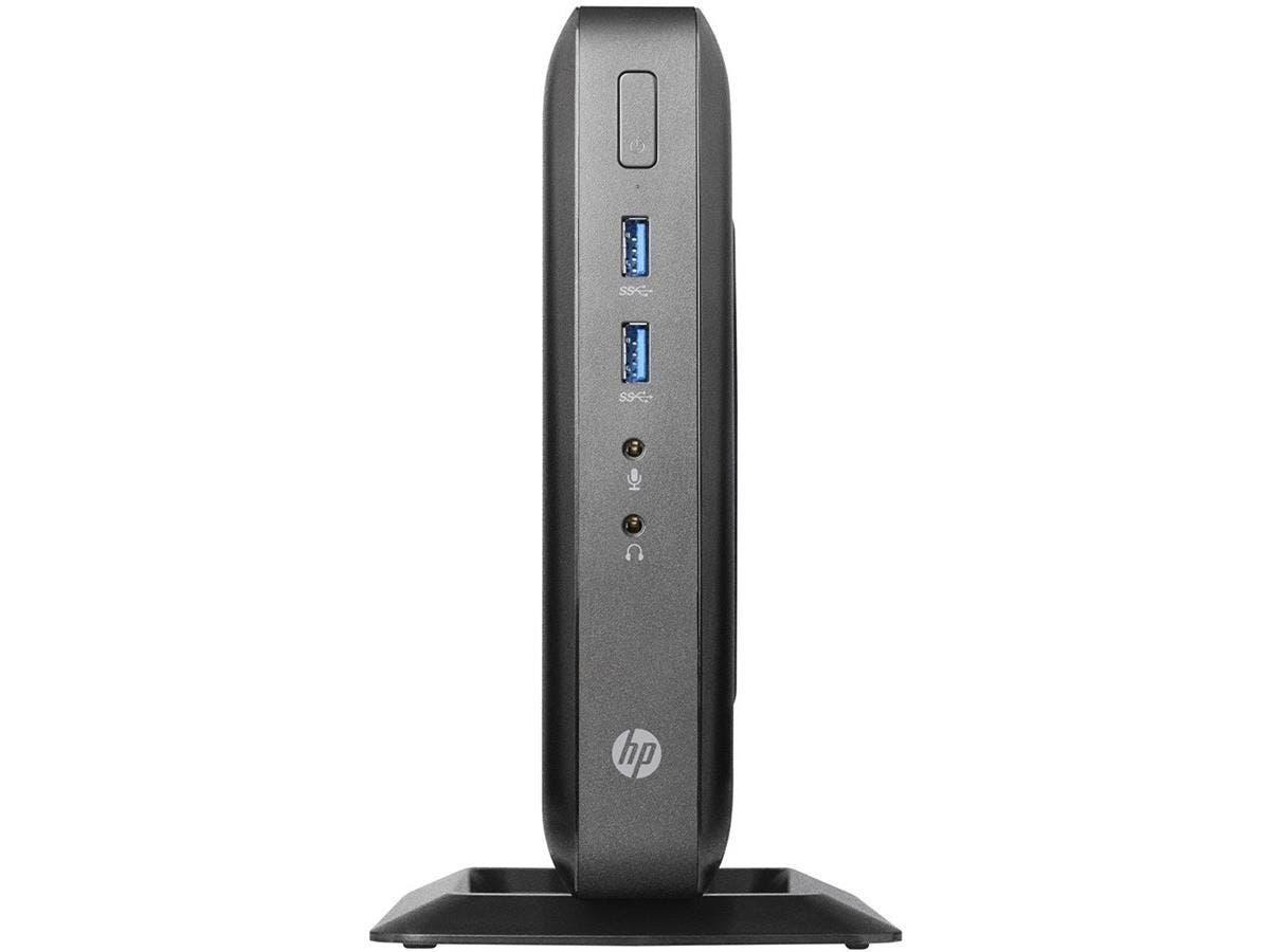HP Thin Client - AMD G-Series GX-212JC Dual-core (2 Core) 1.20 GHz - 4 GB RAM DDR3L SDRAM - 8 GB Flash - AMD Radeon HD 9000 Graphics - Gigabit Ethernet - HP Smart Zero (English) - Wireless LAN - Displ