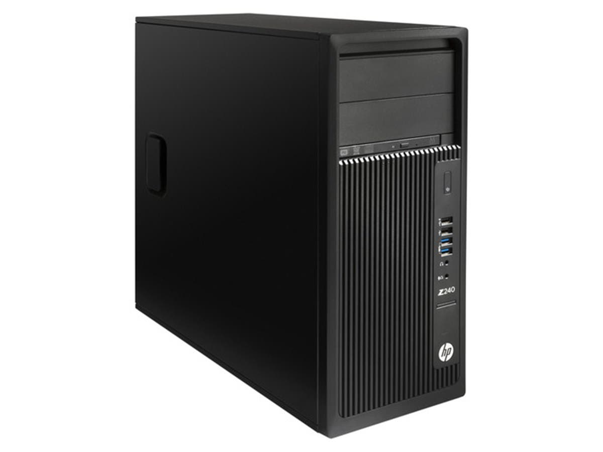 HP Workstation Z240 - MT - Core i7 6700 3.4 GHz - 16 GB - 512 GB - Z2D23UT#ABA