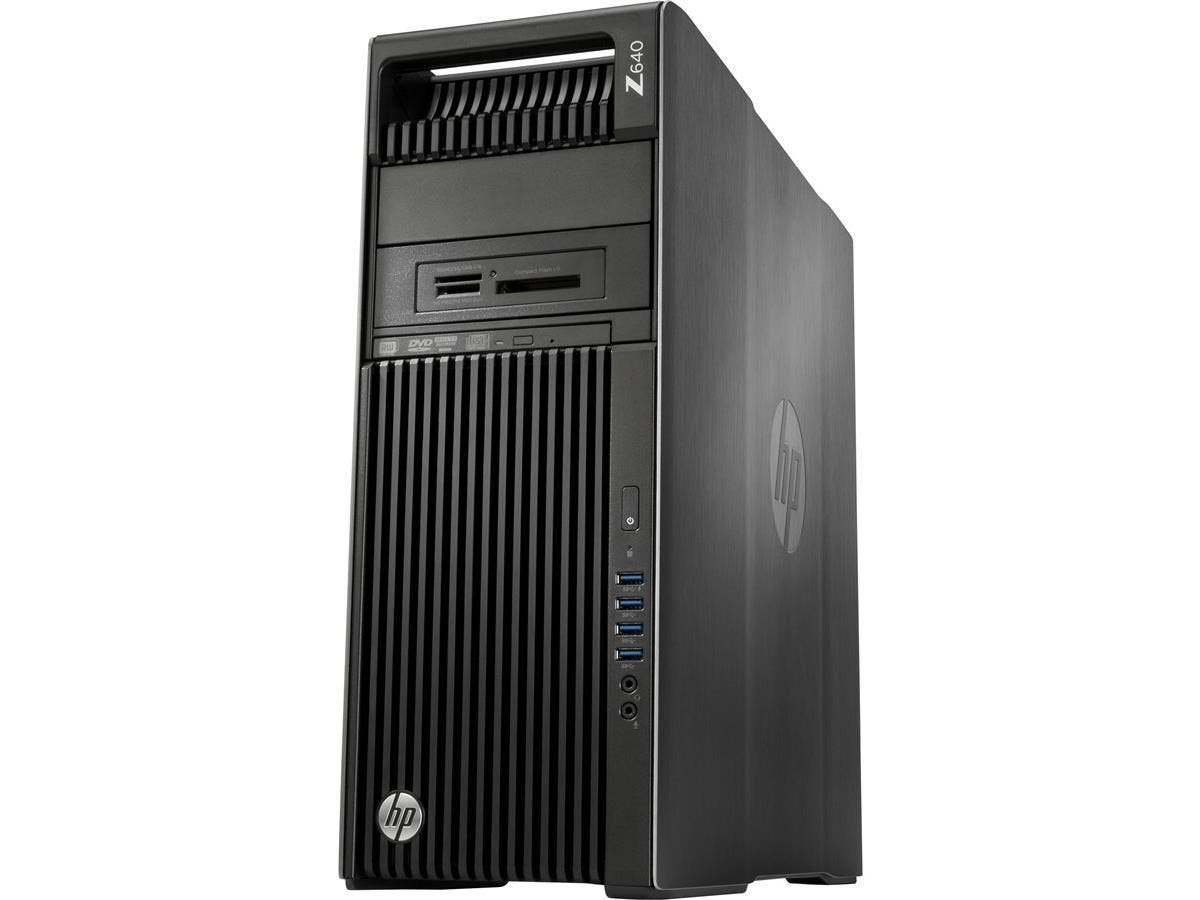 HP Z640 Convertible Mini-tower Workstation - 2 x Processors Supported - 2 x Intel Xeon E5-2620 v4 Octa-core (8 Core) 2.10 GHz - Brushed Aluminum, Black - 16 GB RAM - 256 GB Maximum RAM - DDR4 SDRAM -