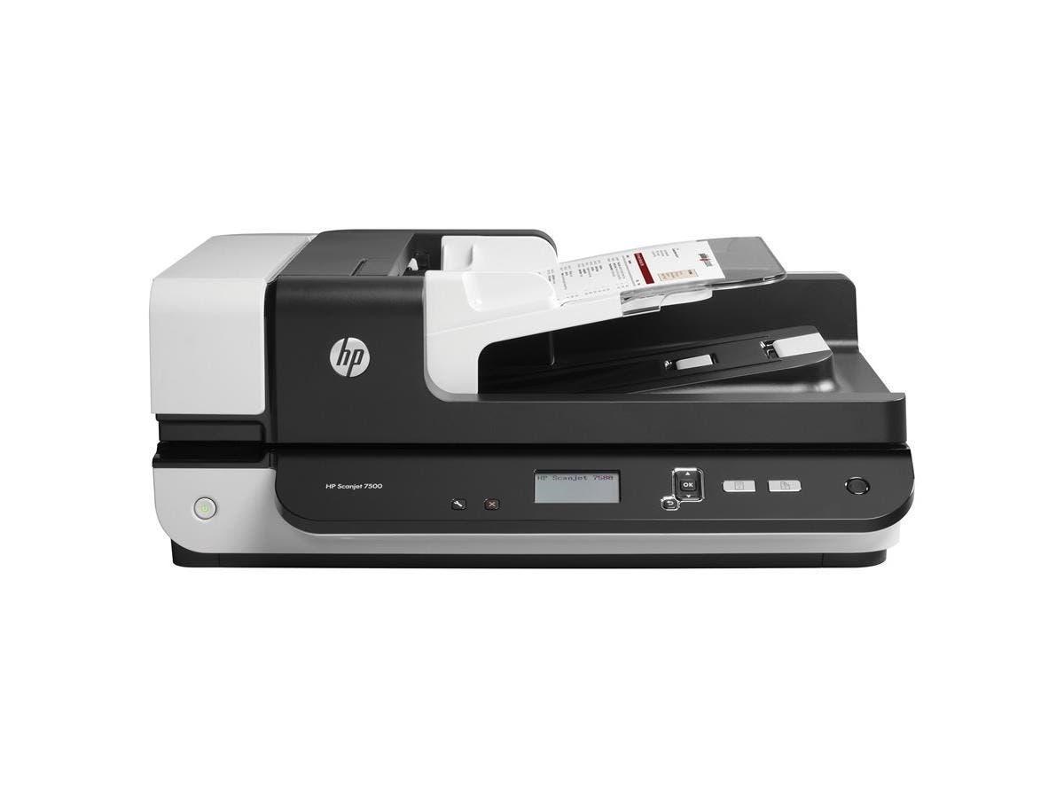 HP Scanjet 7500 Flatbed Scanner - 600 dpi Optical-Large-Image-1
