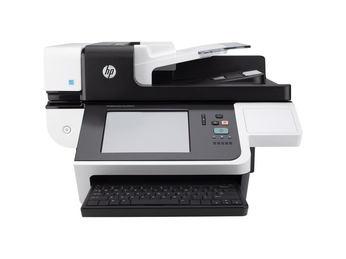 HP Digital Sender Flow 8500 fn1 Document Capture Workstation without FIPS Drive - 600 dpi Optical - 24-bit Grayscale - 60 - 60 - USB - Ethernet - 24-bit Grayscale - 60 - 60 - Duplex Scanning - USB - E