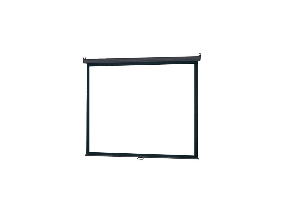 "InFocus SC-MAN-84 Manual Projection Screen - 84"" - 16:9 - Wall Mount, Ceiling Mount - 50"" x 67"" - Matte White"