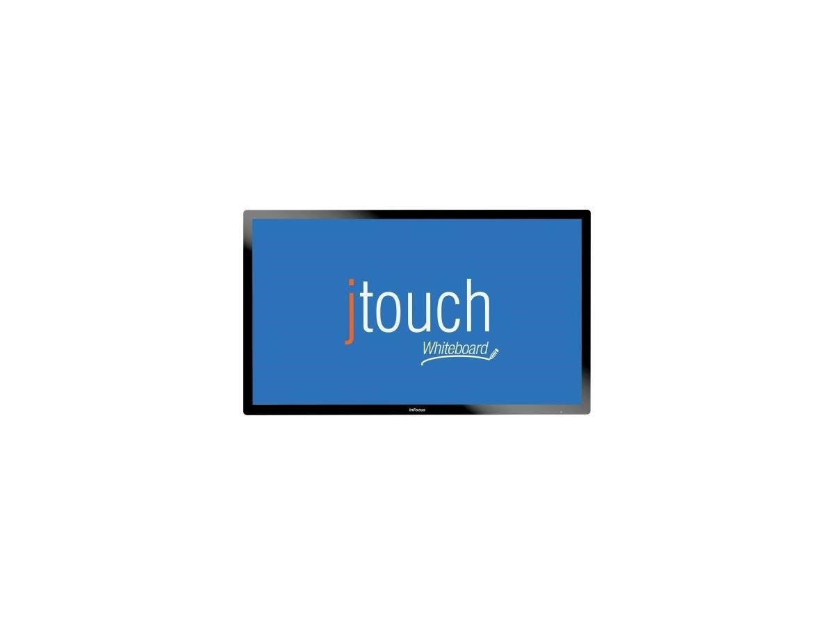"""InFocus JTouch 65-inch Whiteboard with Capacitive Touch and Anti-Glare - 65"""" - Touch-on - Capacitive - Active AreaMulti-touch Screen - Wired - Speaker - HDMI - PC, Mac - Black"""