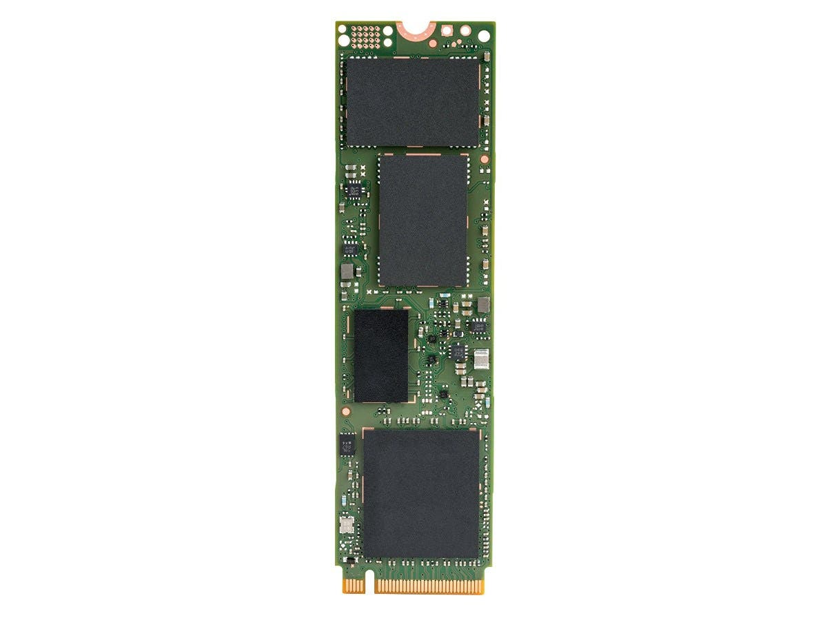 Intel SSD 600p Series SSDPEKKW512G7X1 (512 GB, M.2 80mm PCIe NVMe 3.0 x4, 3D1, TLC)