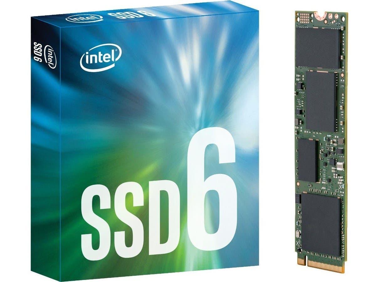 Intel® SSD 600p Series 1.0TB, M.2 80mm PCIe 3.0 x4, 3D1, TLC