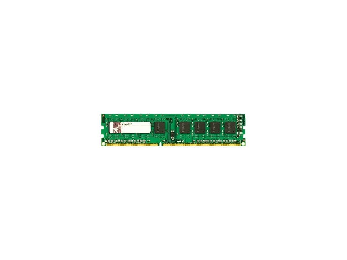 Kingston 8GB 1333MHz DDR3 ECC Module - 8 GB (1 x 8 GB) - DDR3 SDRAM - 1333 MHz DDR3-1333/PC3-10600 - ECC - Unbuffered - 240-pin - DIMM