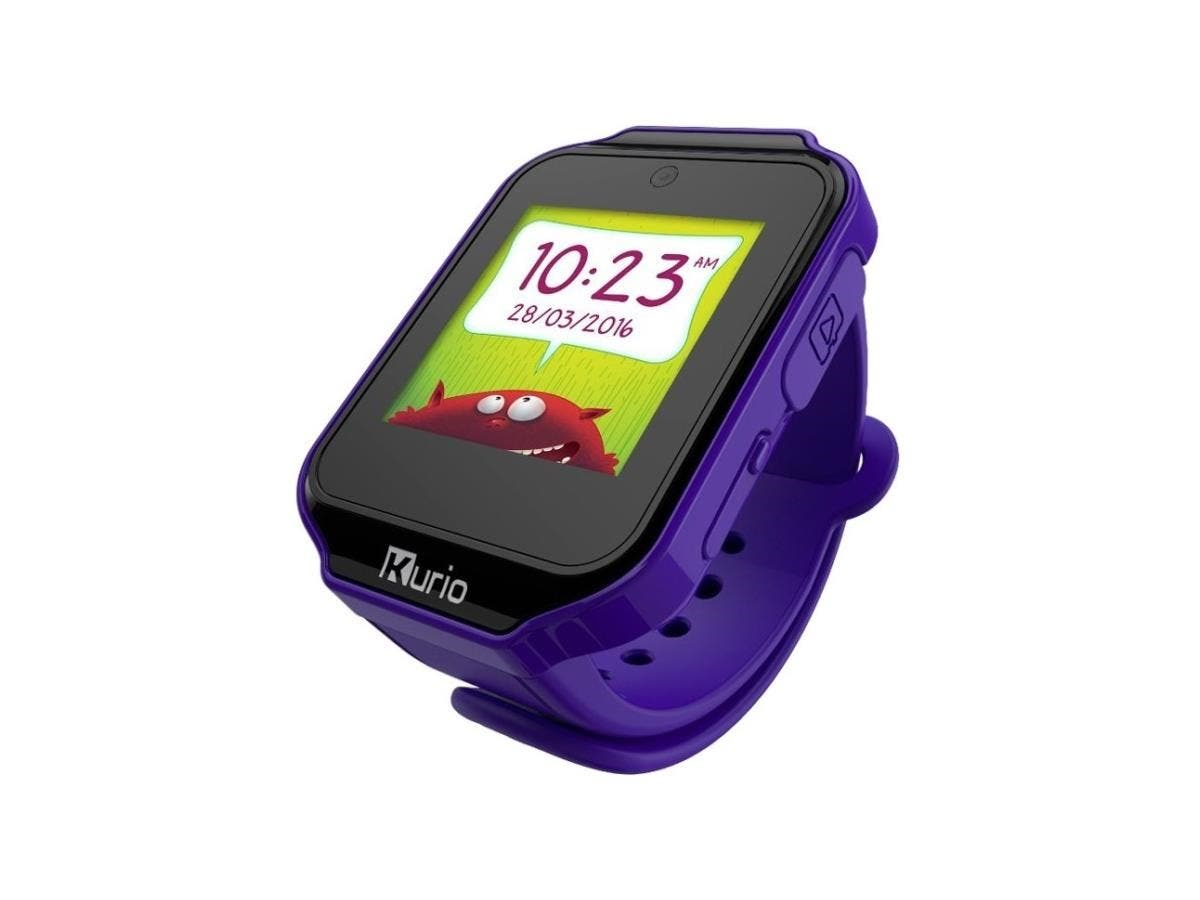 Kurio Watch Lavender - All Features You'd Expect in a Smartwatch - Camera -Touch Screen - Games - Apps - Alarm Clock - Calendar - Activity tracker - Messaging - Contacts and More-Large-Image-1