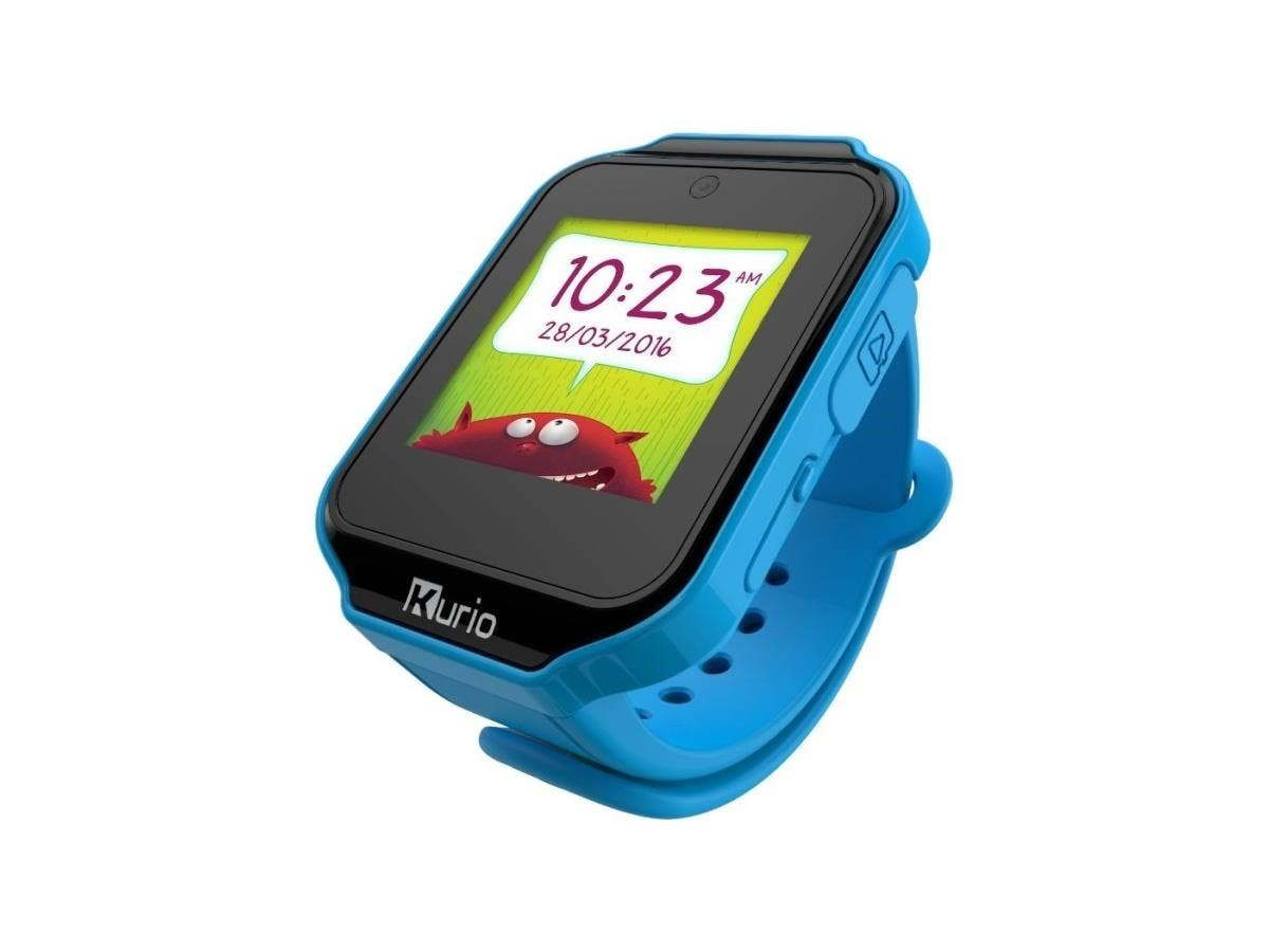 Kurio Watch Blue - All Features You'd Expect in a Smartwatch - Camera -Touch Screen - Games - Apps - Alarm Clock - Calendar - Activity tracker - Messaging - Contacts and More