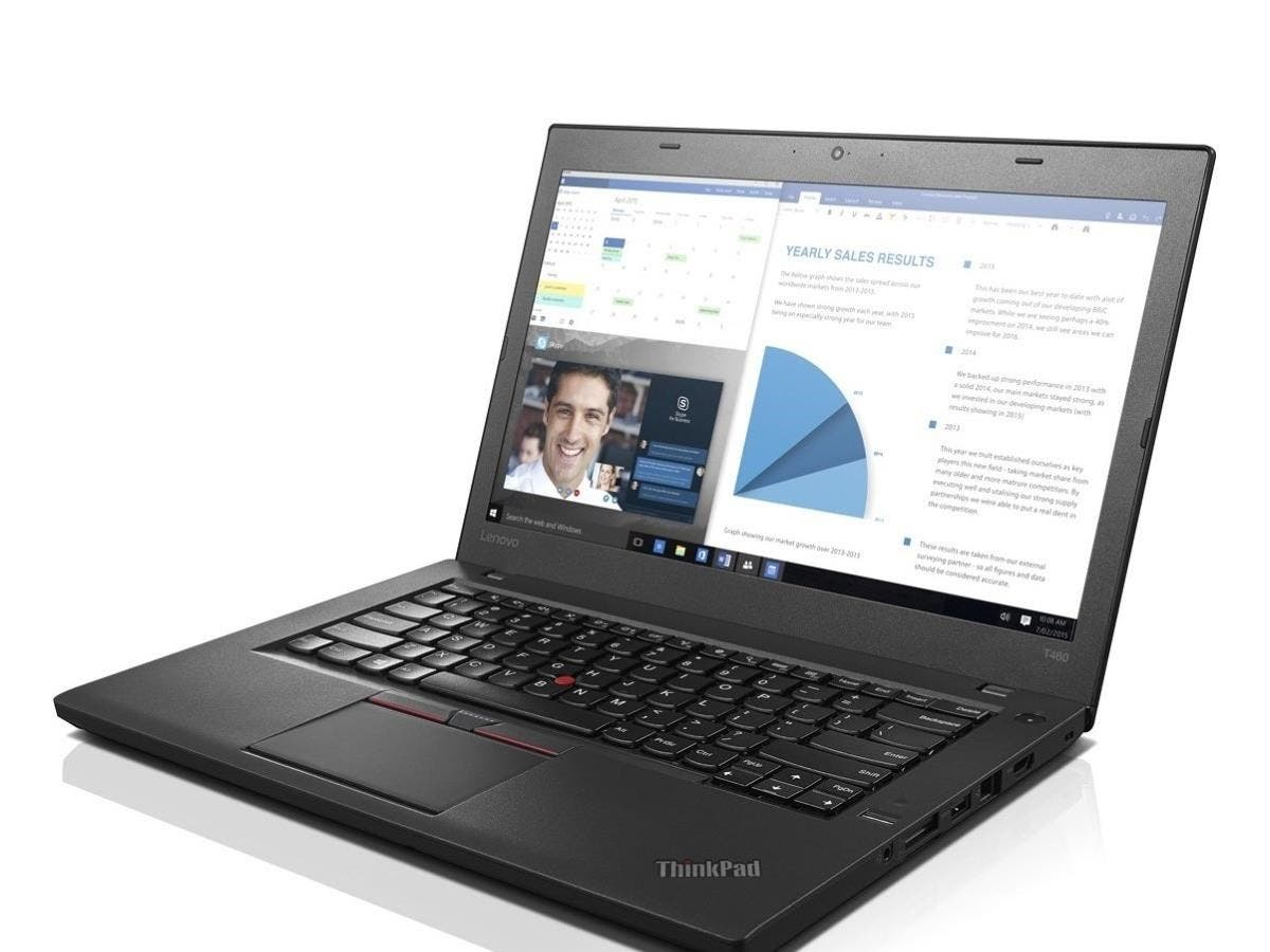 "Lenovo ThinkPad T460 20FN002JUS 14"" (In-plane Switching (IPS) Technology) Notebook - Intel Core i5 (6th Gen) i5-6300U Dual-core (2 Core) 2.40 GHz - Black - 8 GB DDR3L SDRAM RAM"