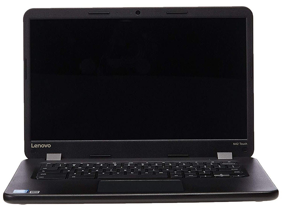 "Lenovo N42-20 Touch Chromebook 80VJ - 14"" - Celeron N3060 - 4 GB RAM - 16 GB - 80VJ0000US-Large-Image-1"
