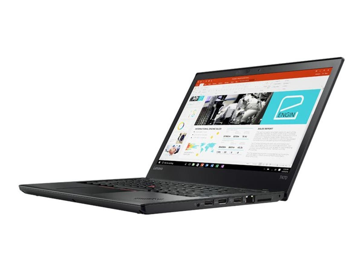 Lenovo 20JM000CUS Thinkpad T470 14 Intel Core I5-6200U (2.30Ghz 3Mb) 4Gb 500Gb Sata Windows 10 Pro -Large-Image-1