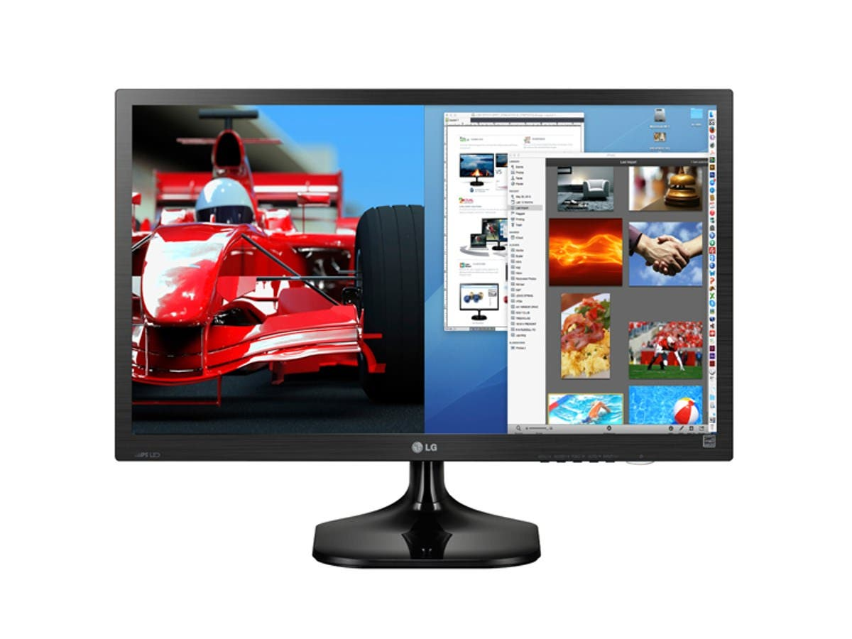 "LG 27"" class (27"" diagonal) LED Monitor with Flicker-Safe and Reader Mode 27MP37VQ-B"