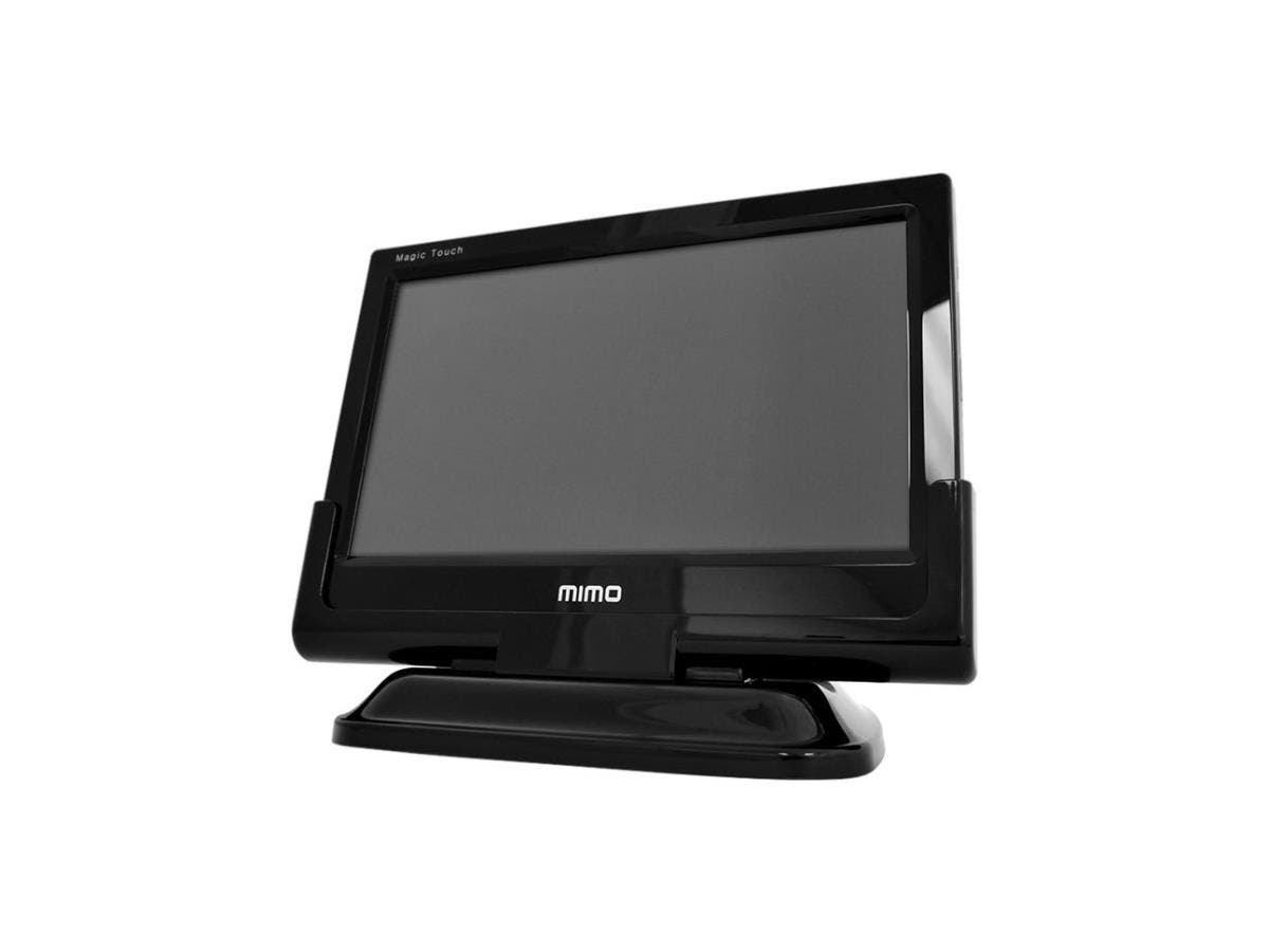 "Mimo Monitors Magic Touch Deluxe UM-1070 10.1"" LCD Touchscreen Monitor - 16 ms - Capacitive - Multi-touch Screen - 1366 x 768 - WXGA - 300:1 - 200 Nit - USB - Black"