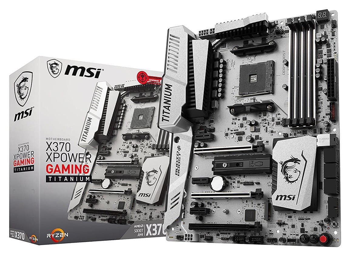 MSI X370 XPOWER GAMING TITANIUM Amd Ryzen X370 Ddr4 Vr Ready Hdmi Usb 3 Atx Gaming Motherboard